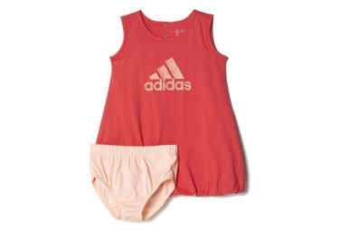 Robe SUM DRESS Rose Bébé Fille Adidas
