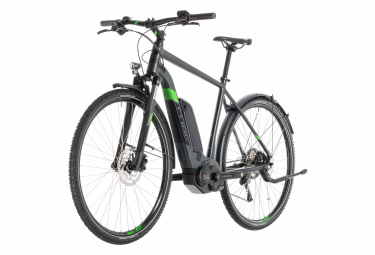 Cube Cross Hybrid Pro 500 Allroad E-bike  Gris / Vert