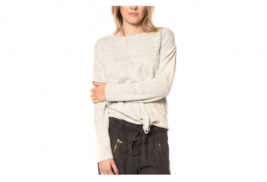 Pull Charly Gris Fille Deeluxe