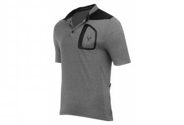 LeBram Parpaillon Gravel / VTT short sleeve jersey Gray