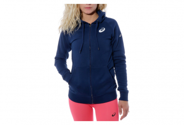 Marathon Paris Sweat Femme Running Marine Asics