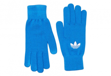 Trefoil Homme/Femme Gants Bleu Adidas