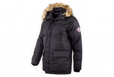 Natson Homme Parka Noir Simon and sons