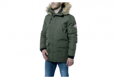 Natson Homme Parka Kaki Simon and sons