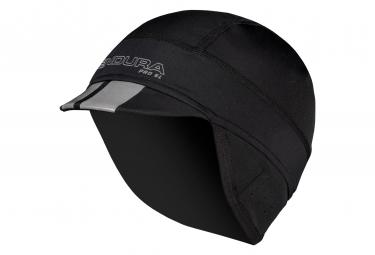 Casquette Hiver Endura Pro Noir