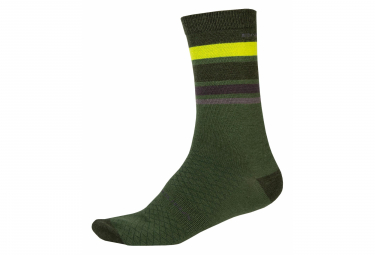 Endura Socks BaaBaa Merino Stripe For