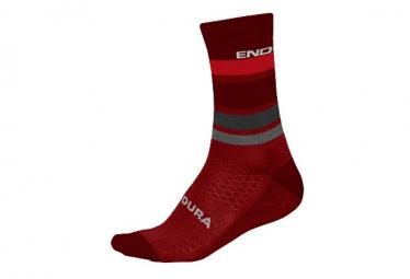 Socken Endura BaaBaa Merino Merino Red