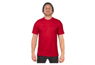 T-Shirt Manches Courtes Endura One Clan Icon Rouge