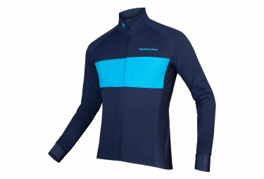 Endura FS260 Pro Jetstream Long Sleeve Jersey Navy Blue