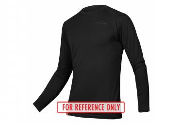 Endura BaaBaa Blend Base Layer Long Sleeve Jersey Black