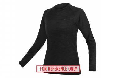 SouS / Women's Long Sleeve Jersey Endura M lange BaaBaa Black