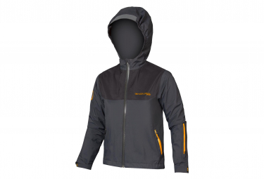 Endura MT500JR Kids Jacket waterproof Gray