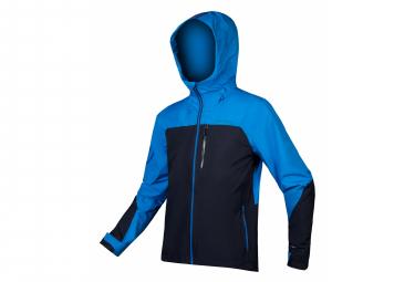 Endura Waterproof Jacket Single Track Navy Blue