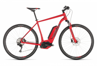 Cube Cross Hybrid Pro 500 E-bike  Rouge