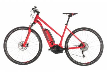 Cube Cross Hybrid Pro 500 Trapeze Womens Hybrid Bike Rouge