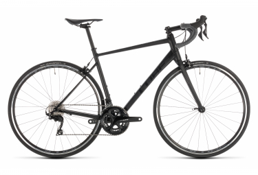 Cube Attain SL Road Bike Shimano 105 11S Black Grey 2019