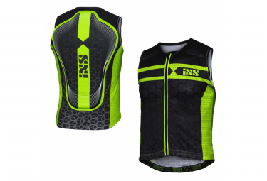 Protective Vest IXS RS-20 Black / Green