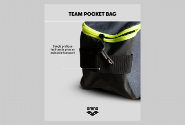 Sac à Chaussures Arena Team Pocket Bag Noir