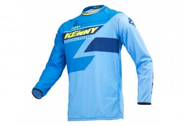 Kenny Track Long Sleeve Jersey Full Blue