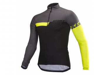 Kenny XC Kids Long Sleeve Jersey Grey Lime
