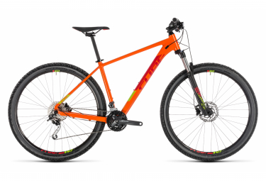 Cube Analog 29'' Hardtail MTB Shimano Alivio/Altus 9S Orange Red 2019