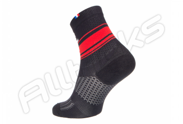 Paire de Chaussettes RAFAL BOA Black red