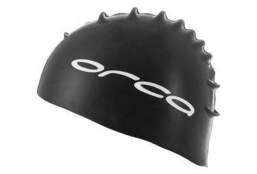 Orca Silicone Swimcap Black