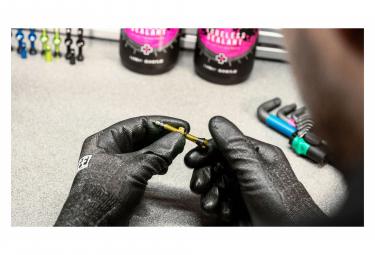 Valves Tubeless Muc-Off Aluminium Presta 44 mm Or