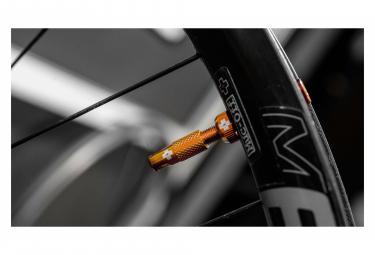 Valves Tubeless Muc-Off Aluminium 60 mm Orange
