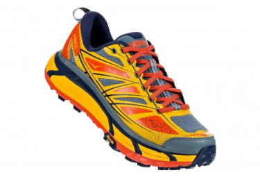 Chaussures de Trail Hoka One One Mafate Speed 2 Orange / Rouge
