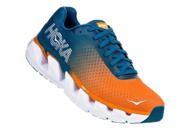 Zapatillas Hoka One One Elevon para Hombre Naranja / Azul