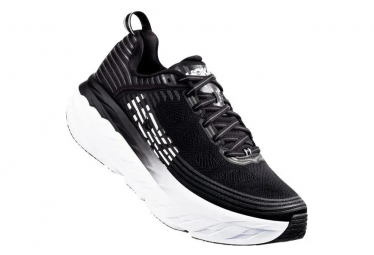 Hoka One One Bondi 6 Black White Men