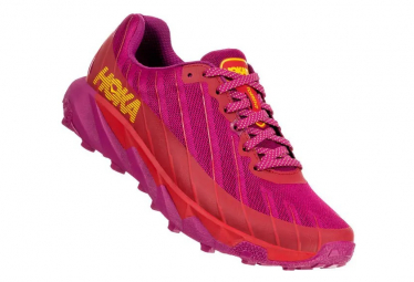 Chaussures de Trail Femme Hoka One One Torrent Rose / Rouge
