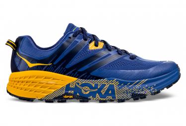 Chaussures de Trail Hoka One One Speedgoat 3 Bleu / Orange