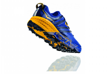 Scarpe da Trail Running Hoka One One Speedgoat 3 Blu Giallo