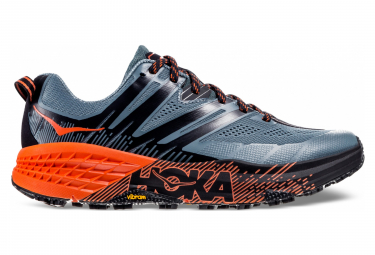 Hoka One One Speedgoat 3 Grey Orange Men