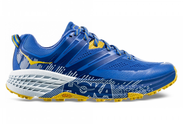Hoka One One Speedgoat 3 Blue Yellow Women