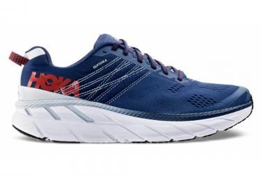 Chaussures de Running Hoka One One Clifton 6 Bleu / Blanc