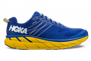 Hoka One One Clifton 6 Blue Yellow Men