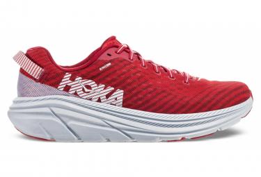 Chaussures de Running Hoka One One Rincon Rouge / Blanc