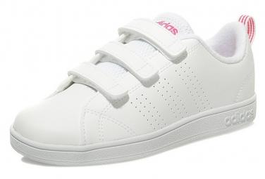 Baskets VS Advantage Clean Cloudfoam Blanc Fille Adidas