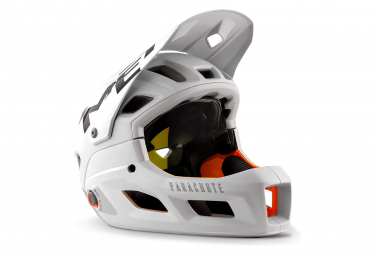 Met Parachute MCR Mips Helmet with Removable Chinstrap Grey Matt