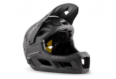 Met Parachute MCR Mips Helm mit abnehmbarem Kinnriemen Black Matt