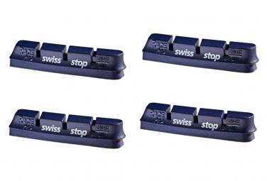x4 Cartouches de Patins de Frein SwissStop RacePro BXP Pour Jantes Aluminium Pour Freins Campagnolo