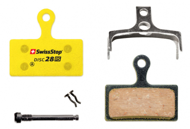 SwissStop Disc 28 RS Organic Brake Pads for Shimano / FSA / Rever