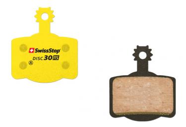 Paire de Plaquettes Organiques SwissStop Disc 30 RS pour Freins Magura / Campagnolo