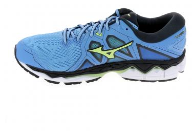 Image of Chaussure de runningrunning mizuno wave sky 2 bleu 44