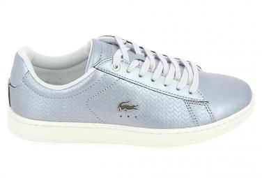 Basket mode, SneakerBasket -mode - Sneakers LACOSTE Carnaby Gris Blanc