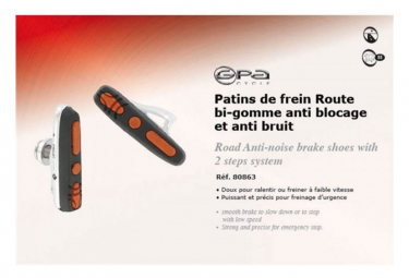GPA CYCLE Supports et Patins de Frein Route ABS