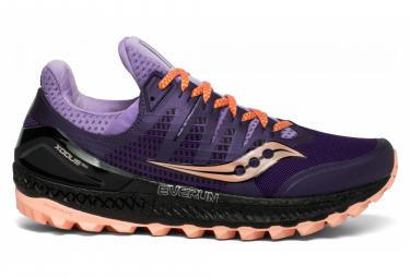 Zapatillas Saucony XODUS ISO 3 para Mujer Negro / Púrpura